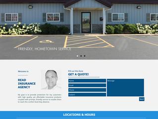 Website Overview: Read Insurance Agency