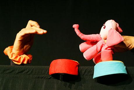 Foto do espetáculo Brincando de Bonecos