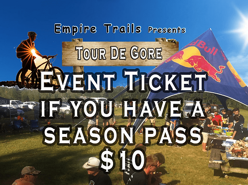 Tour de Gore: For adults with prior Season Passes