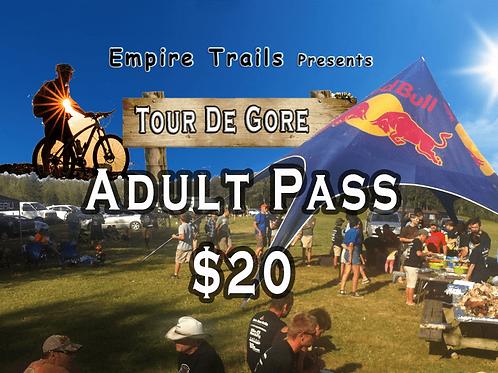 Adult Tour de Gore Ticket