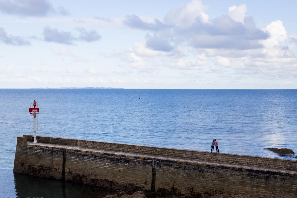 Séance couple à Moelan sur mer