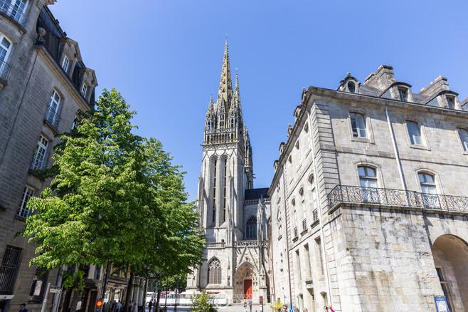 Mariage cathédrale saint corentin