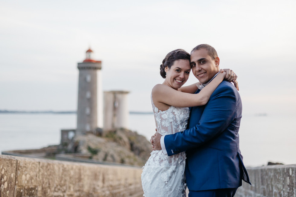 mariage phare du minou