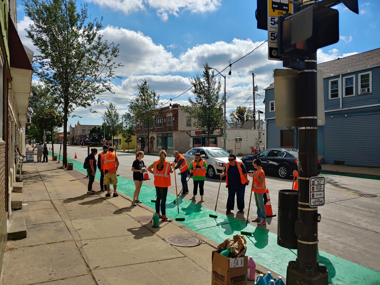 Bike Lane Volunteers