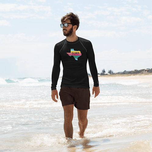 Surf Texas Men's Rash Guard