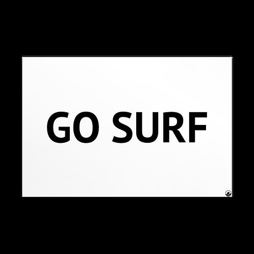 Go Surf Standard Postcard