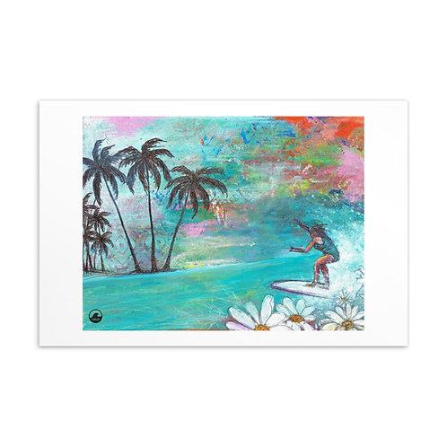 Margarita Mini art Standard Postcard