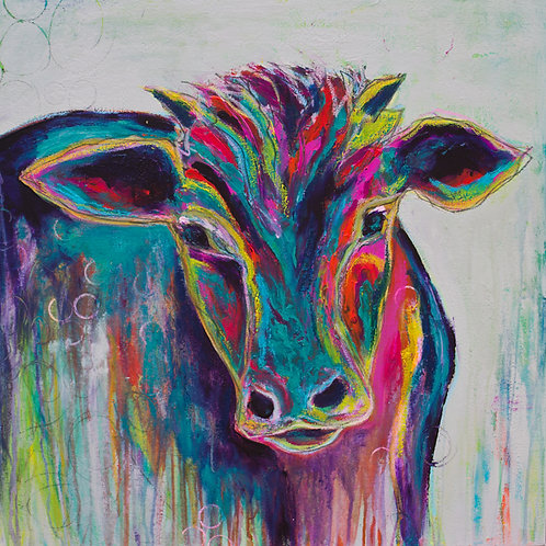SOLD - Texas Cow
