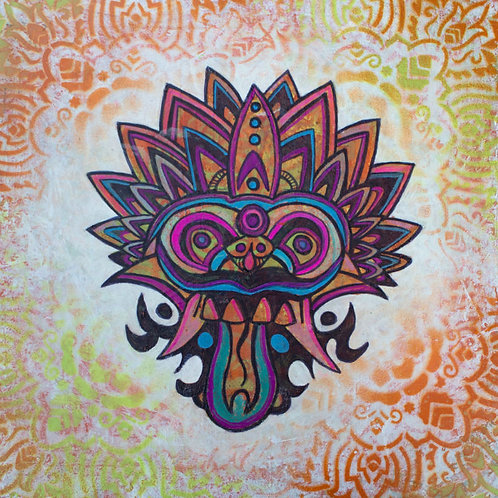 SOLD - Balinese Mask