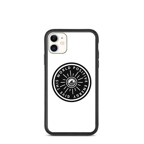 Give This World Positive Energy Biodegradable phone case