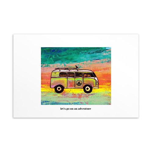 Van Life Standard Postcard