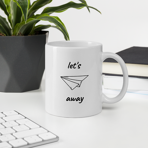 Let's Fly Away Mug