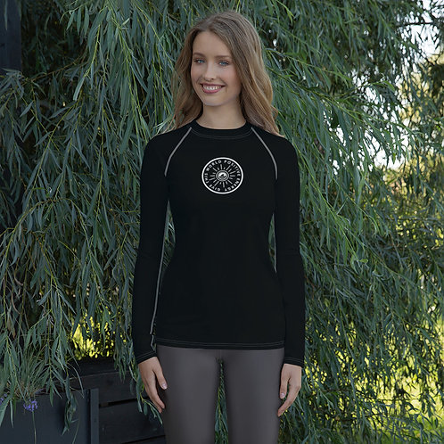 Give This World Positive Energy Women's Rash Guard by SoBudd