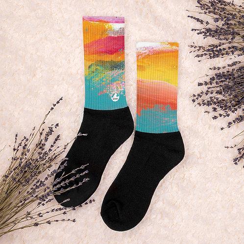 Tropical Holiday Socks