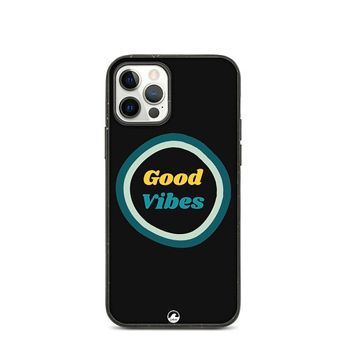 Good Vibes Biodegradable phone case by SoBudd