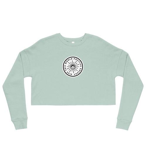 Give This World Positive Energy Crop Sweatshirt