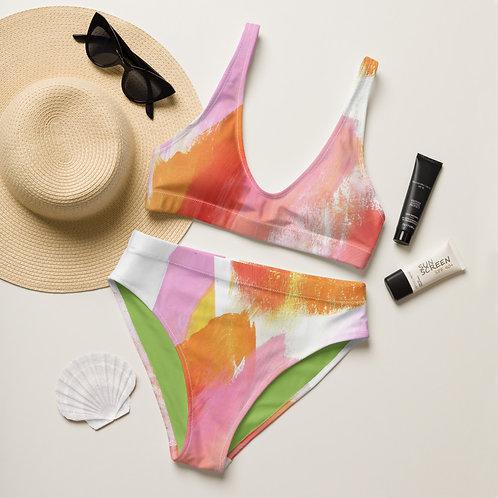 Sugar Shack Recycled high-waisted bikini