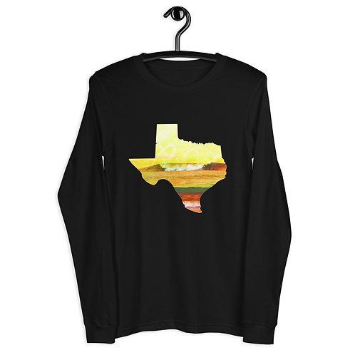 Texas Waves Unisex Long Sleeve Tee