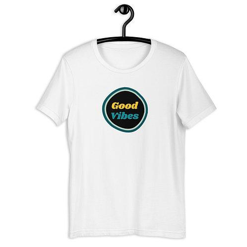 Good Vibes Short-Sleeve Unisex T-Shirt
