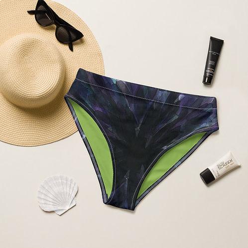 Radiate Recycled high-waisted bikini bottom