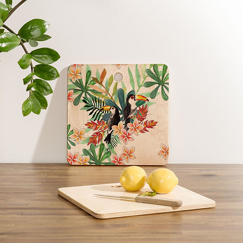 Two Toucans Cutting Board