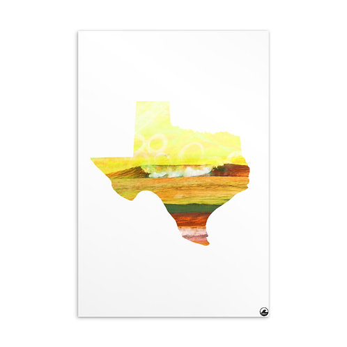 Texas Wave Standard Postcard