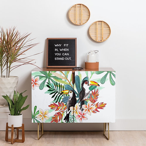Two Toucans Credenza