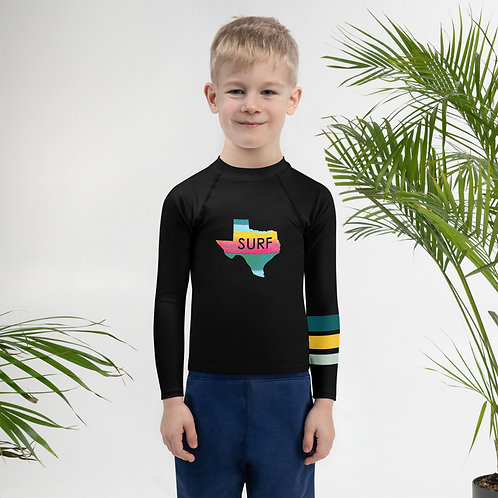Surf Texas Kids Rash Guard