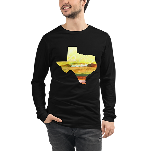 Texas Waves Unisex Long Sleeve Tee
