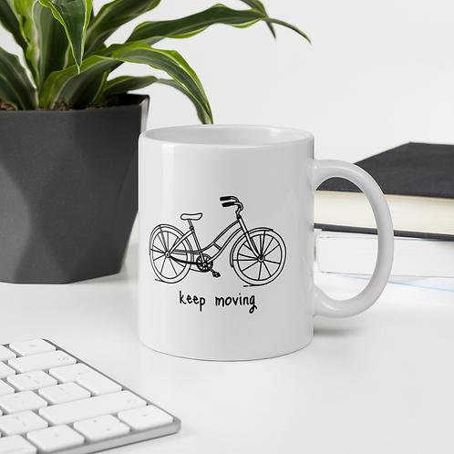 Keep Moving Mug