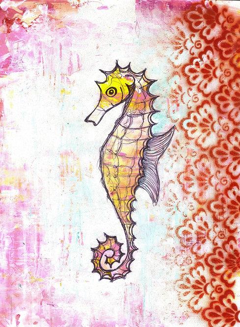 SOLD- Seahorse