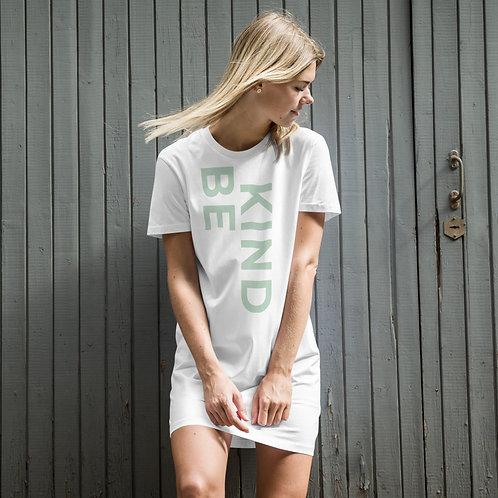 Be Kind Organic cotton t-shirt dress