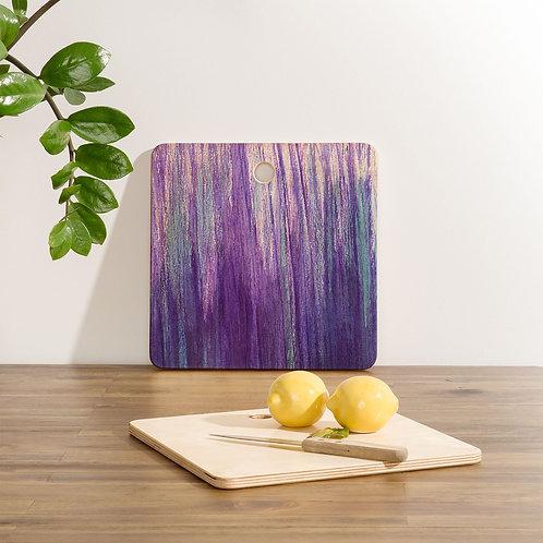 Purple Stream Cutting Board