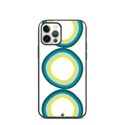 Circles in The Sand Biodegradable phone case by SoBudd