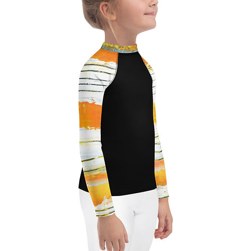 Sunshine Vibes Kids Rash Guard