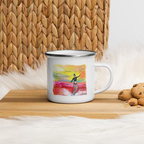 Sea Gypsy Enamel Mug