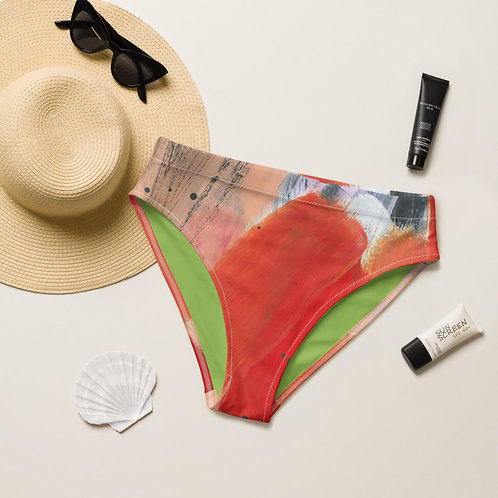 Fearless Recycled high-waisted bikini bottom