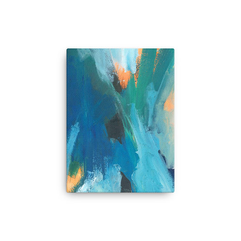Submerged Canvas Abstract art Print