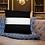 Thumbnail: Black and White Stripe Throw Pillow