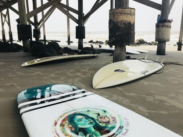 Sophia Buddenhagen Art Surfboards SoBudd