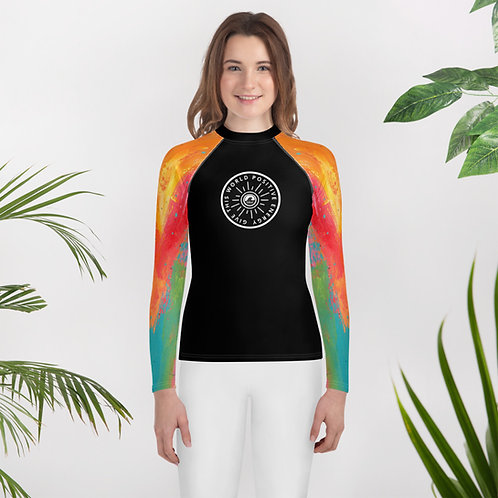 Give This World Positive Energy Youth Rash Guard by SoBudd