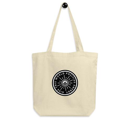 SoBudd Give This World Positive Energy Eco Tote Bag