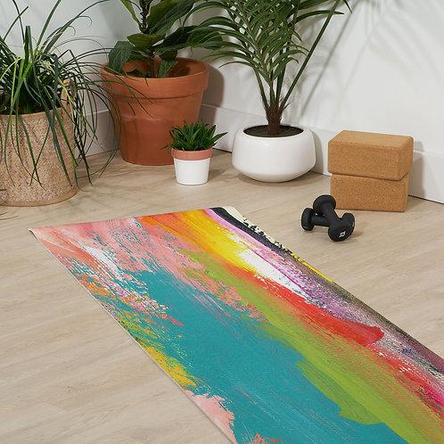 Tropical Holiday Yoga Mat