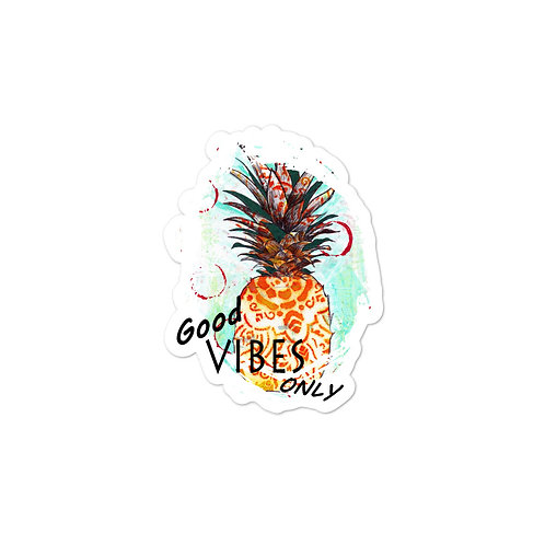 Good Vibes Only Bubble-free stickers