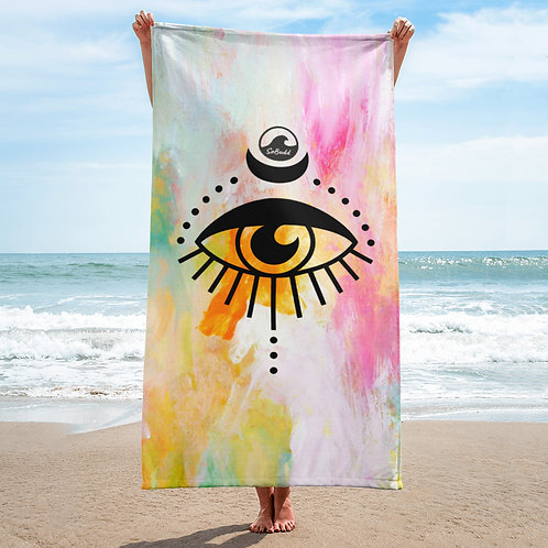 Chasing Sunshine Beach Towel