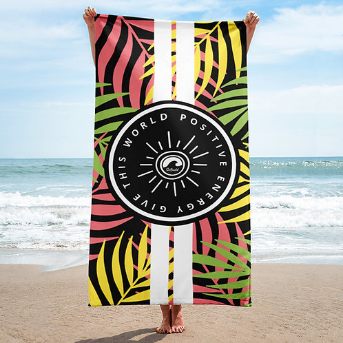 Give This World Positive Energy Beach Towel