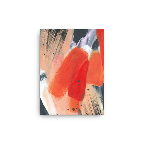 Fearless Abstract Canvas Print