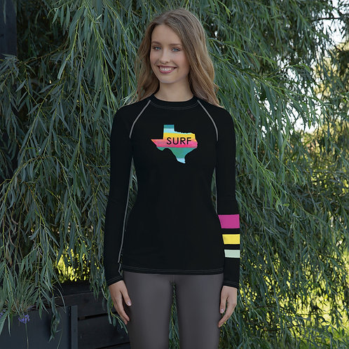 Surf Texas Women's Rash Guard