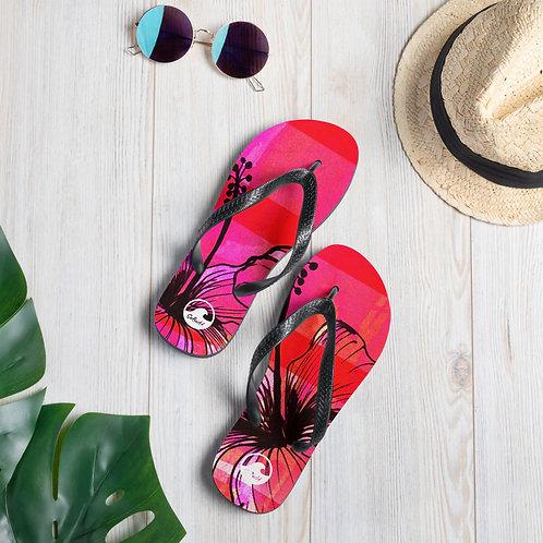 Summer Pink Flip-Flops