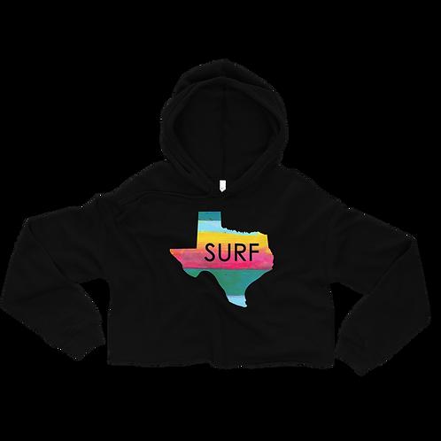 Texas Surf Crop Hoodie